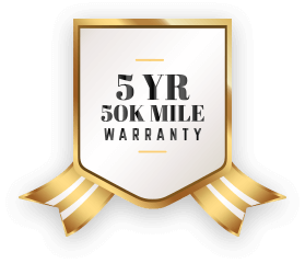 5year/50kmiles Warranty